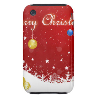 Christmas iPhone 3 Tough Cases