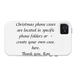 Christmas Case-Mate Case Vibe iPhone 4 Covers