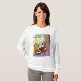 Christmas Casino Style women long sleeve shirt