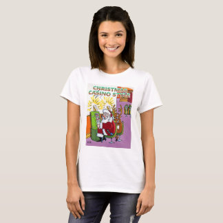 Christmas Casino Style women shirt