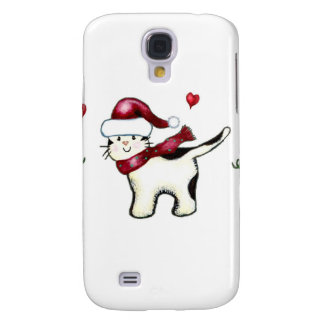 Christmas Cat HTC Vivid Covers