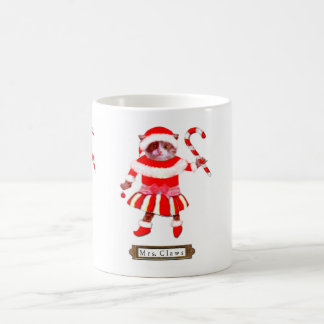 Christmas Cat Cup