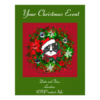 Christmas Cat Full Color Flyer