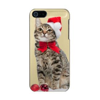 Christmas cat - santa claus cat - cute kitten incipio feather® shine iPhone 5 case