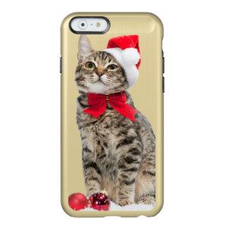 Christmas cat - santa claus cat - cute kitten incipio feather® shine iPhone 6 case