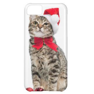 Christmas cat - santa claus cat - cute kitten iPhone 5C case