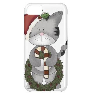 Christmas Cat Santa iPhone 5C Case