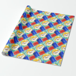 Christmas Cat Wrapping Paper