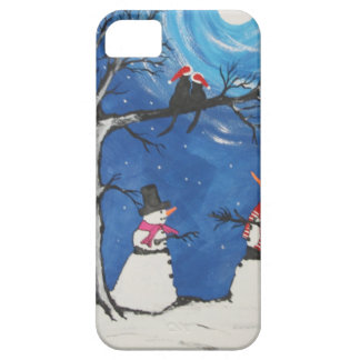 Christmas Cats In Love iPhone 5 Cases