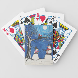 Christmas Cats In Love Poker Deck
