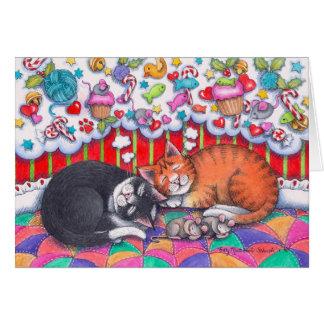 Christmas Cats Notecard #98