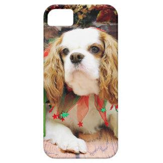 Christmas - Cavalier King Charles Spaniel  Mei Mei iPhone 5 Case