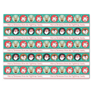 Christmas Characters Tissue Paper