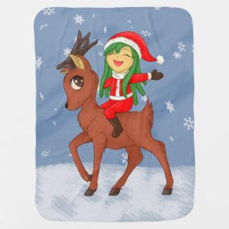 Christmas Cheer Baby Blanket