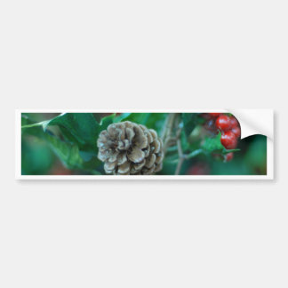 Christmas cheer decoration tree bumper sticker