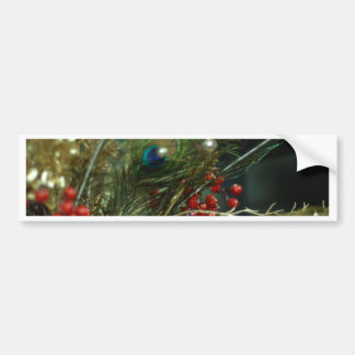 Christmas cheer decoration tree bumper stickers