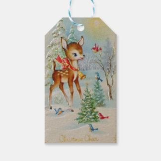 Christmas Cheer Deer Gift Tags