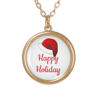 Christmas Cheers!_ Gold Plated Necklace