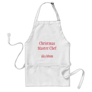 Christmas Chef Cook Mum Apron