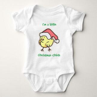 Christmas Chick Baby Bodysuit
