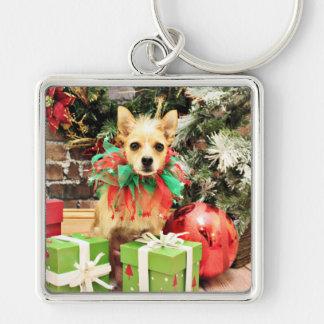 Christmas - Chihuahua X - Buster Key Chains