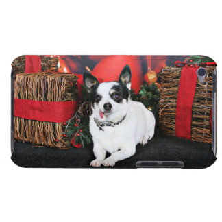 Christmas - Chihuahua X - Stella Barely There iPod Covers