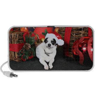 Christmas - Chihuahua X - Stella iPod Speaker