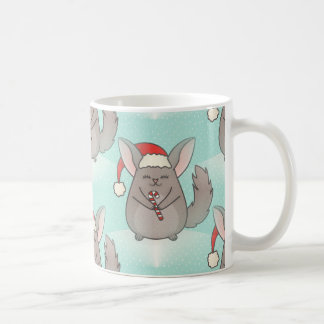 christmas chinchillas coffee mug