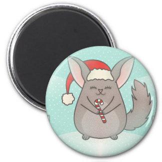 christmas chinchillas magnet