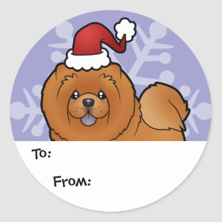Christmas Chow Chow Gift Tags