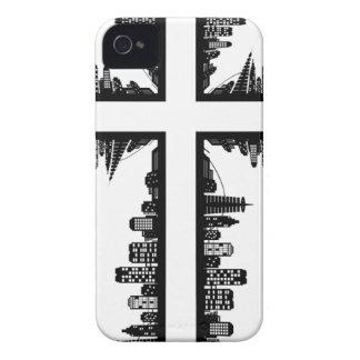 Christmas christ cross iPhone 4 cases