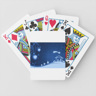 Christmas - Christ Is Born Poker Deck