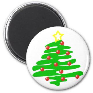 Christmas Christmas tree christmas tree Fridge Magnets