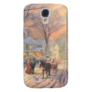 Christmas city - christmas village galaxy s4 cover