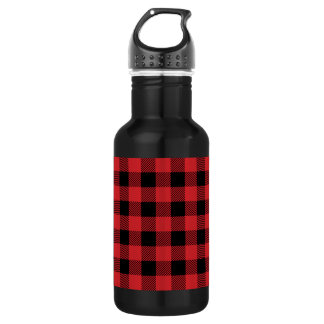 Christmas classic Buffalo check plaid pattern 532 Ml Water Bottle
