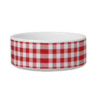 Christmas classic Buffalo check plaid pattern Bowl