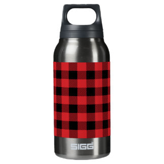 Christmas classic Buffalo check plaid pattern Insulated Water Bottle