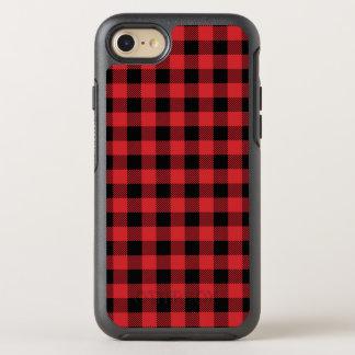 Christmas classic Buffalo check plaid pattern OtterBox Symmetry iPhone 8/7 Case