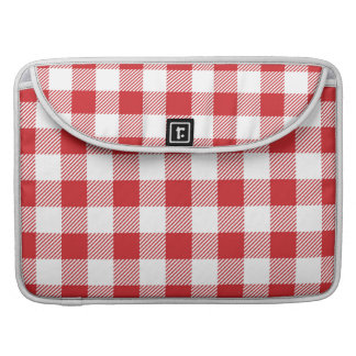 Christmas classic Buffalo check plaid pattern Sleeve For MacBook Pro