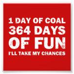 Christmas Coal VS 364 Days of Fun Art Photo