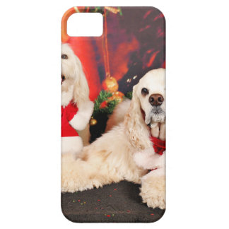 Christmas - Cocker - Toby, Havanese - Little T Case For The iPhone 5