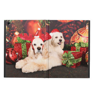 Christmas - Cocker - Toby, Havanese - Little T iPad Air Case