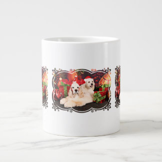 Christmas - Cocker - Toby, Havanese - Little T Large Coffee Mug