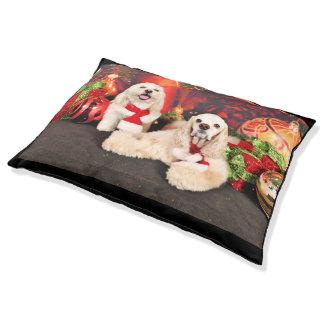 Christmas - Cocker - Toby, Havanese - Little T Pet Bed