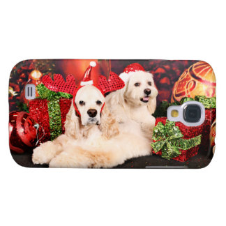 Christmas - Cocker - Toby, Havanese - Little T Samsung Galaxy S4 Covers