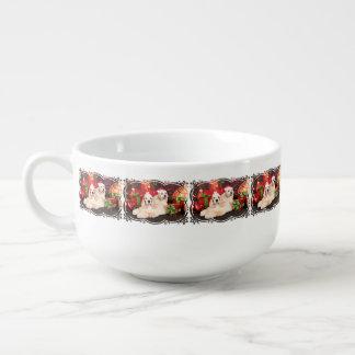 Christmas - Cocker - Toby, Havanese - Little T Soup Mug