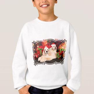 Christmas - Cocker - Toby, Havanese - Little T Sweatshirt