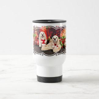Christmas - Cocker - Toby, Havanese - Little T Travel Mug