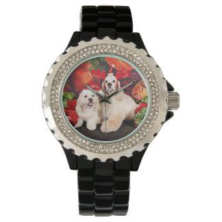 Christmas - Cocker - Toby, Havanese - Little T Watch