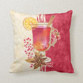 Christmas cocktail cushion